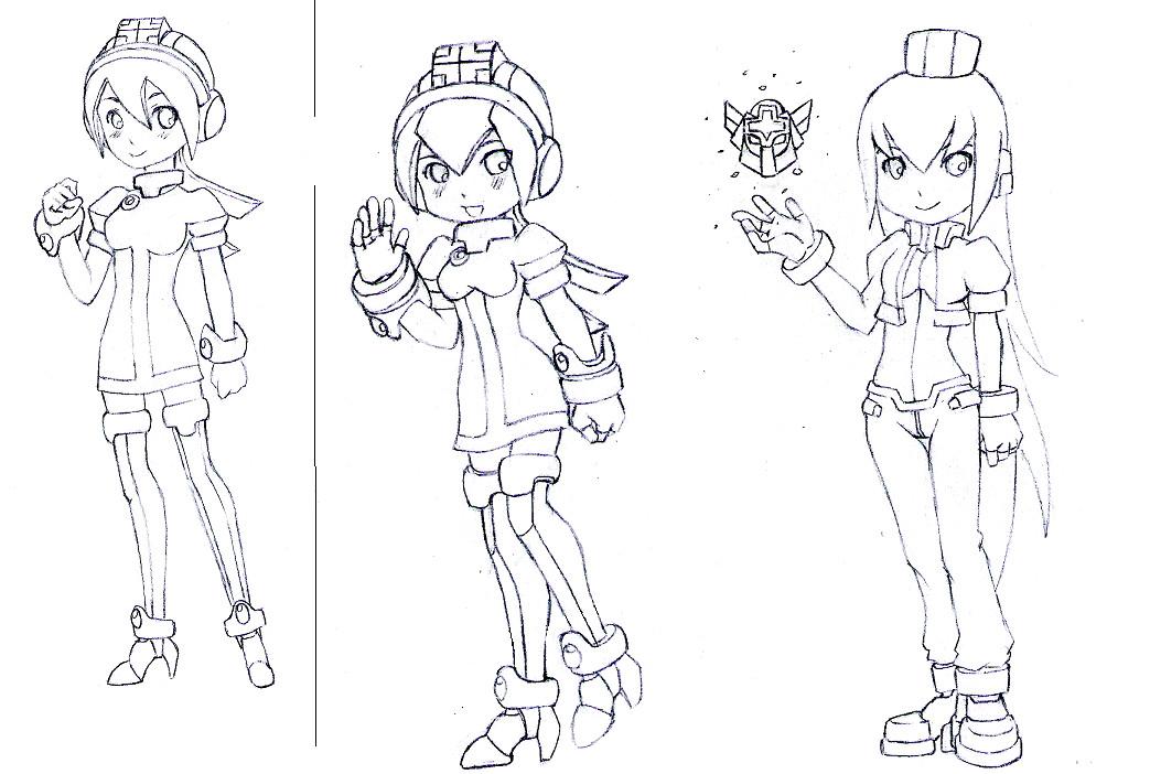 Model C Sketches by ZeroMidnight