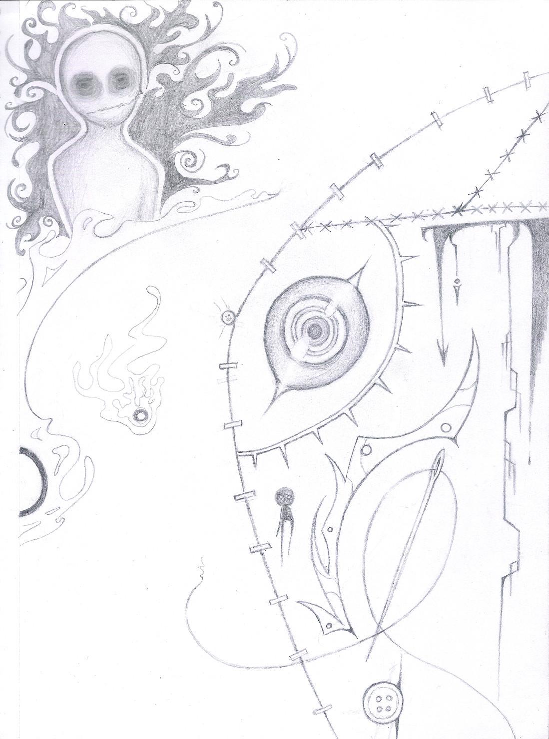 Horror page by ZeroMidnight