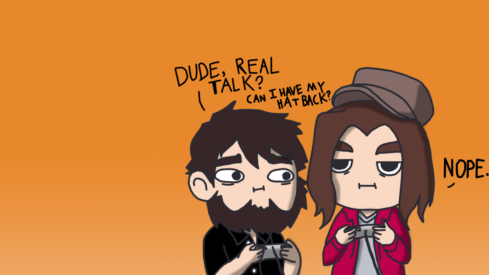 Wallpaper Grumps by ZeroMidnight