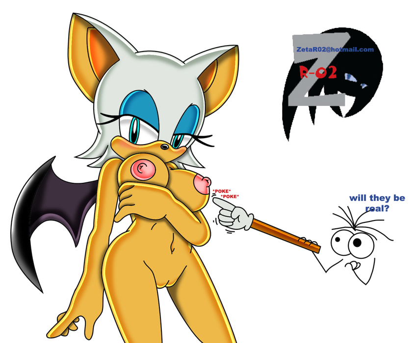 Nude Rouge The Bat by ZetaR02