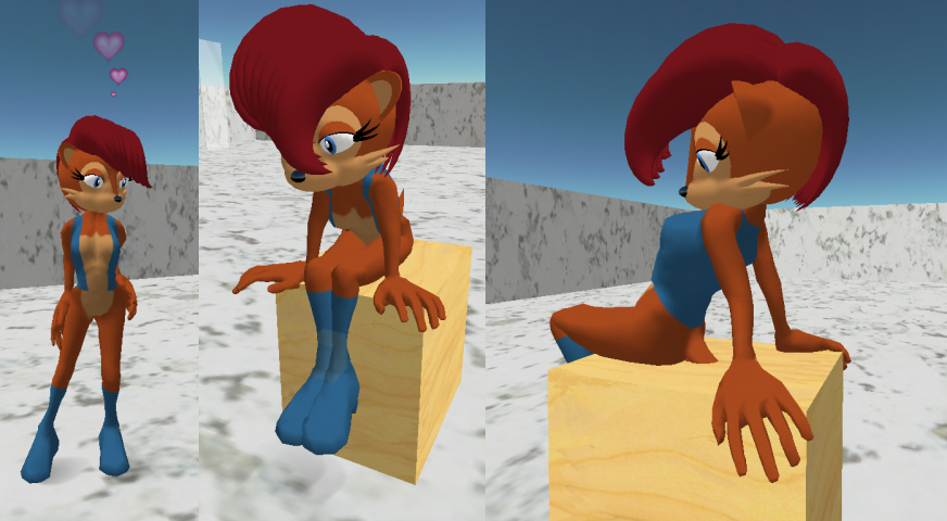 Sally Acorn for Second Life by ZetaR02