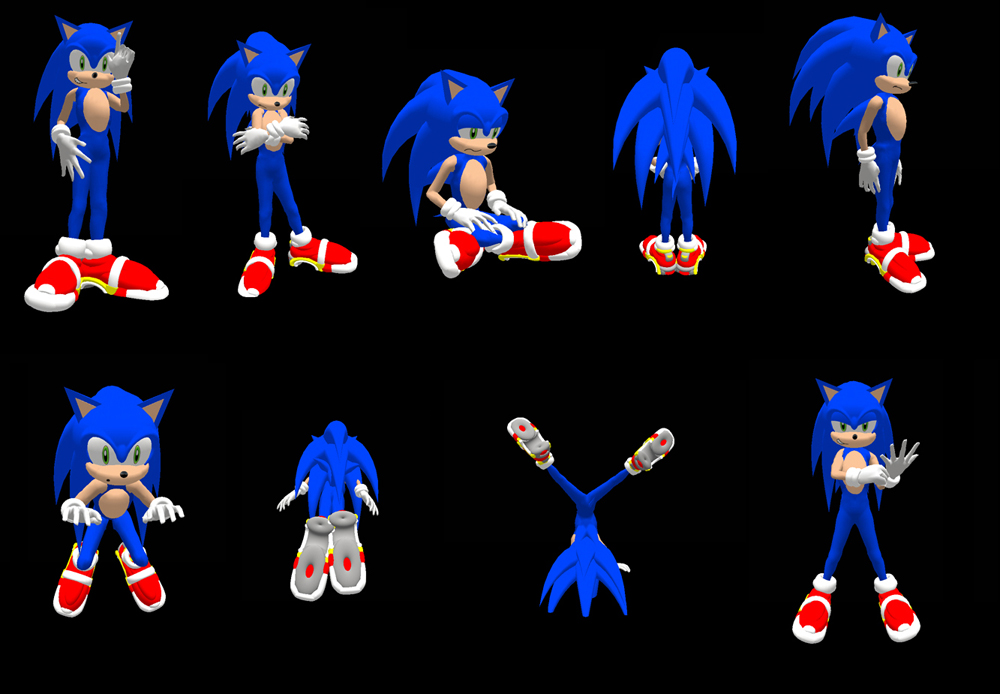Sonic DX Final Version by ZetaR02