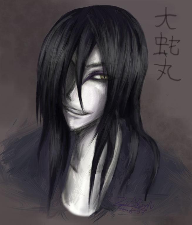 Orochimaru by ZiaReN