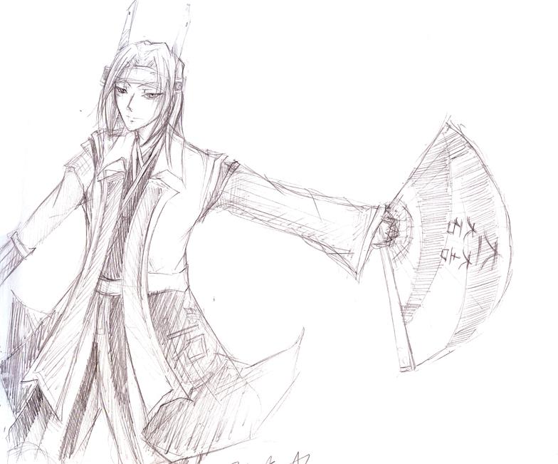 Samurai Warrior : Mitsunari by ZiaReN