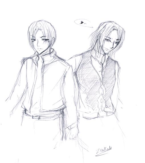 Resident Evil 4 : Leon & Luis by ZiaReN