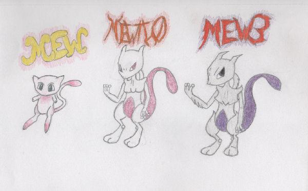 Mew 39 s evolution by zoidiangirl dsz fanart central - Evolution mew ...