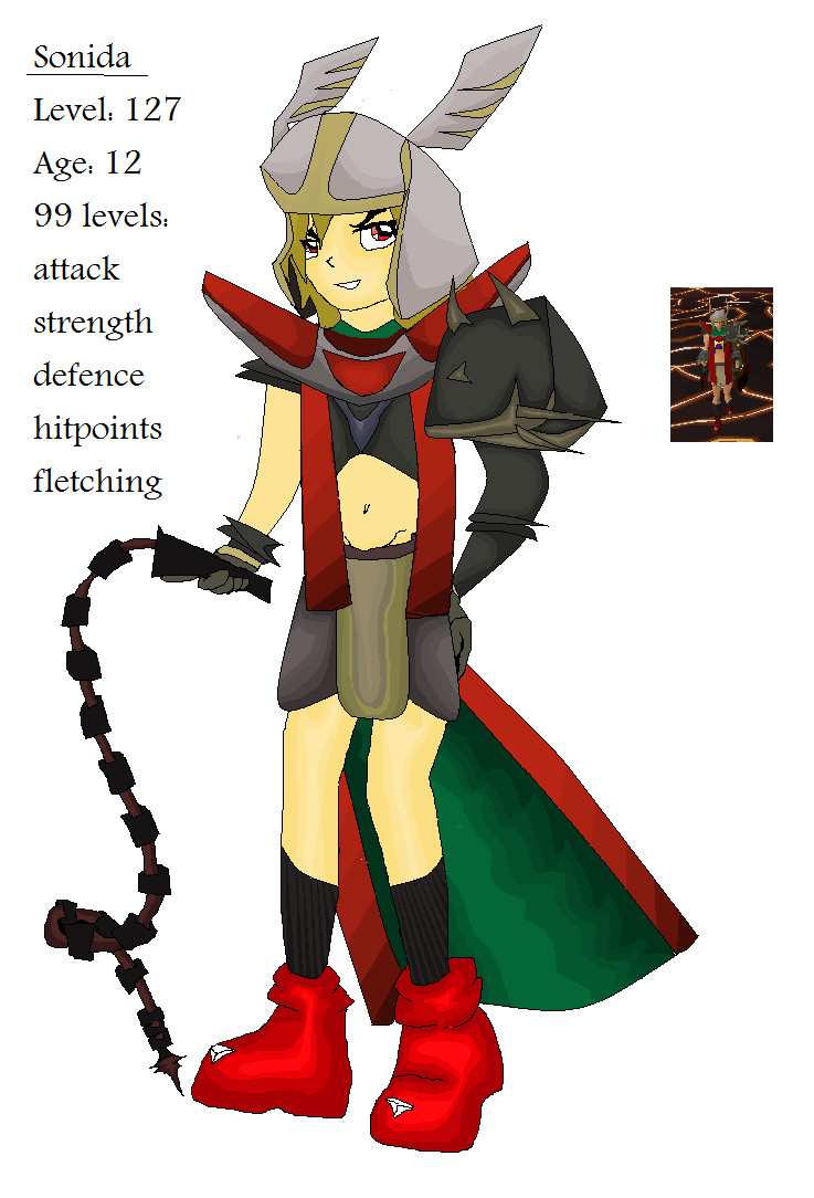 My runescape character by Zonida
