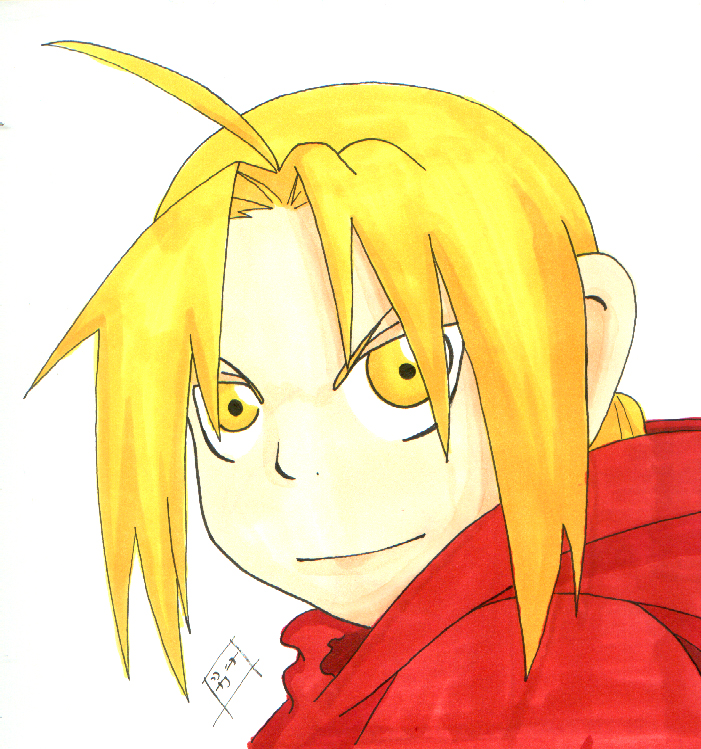 AT: Edward Elric for Dark Angel by Zoriah