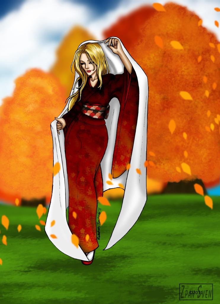 Autumn Princess by ZpanSven