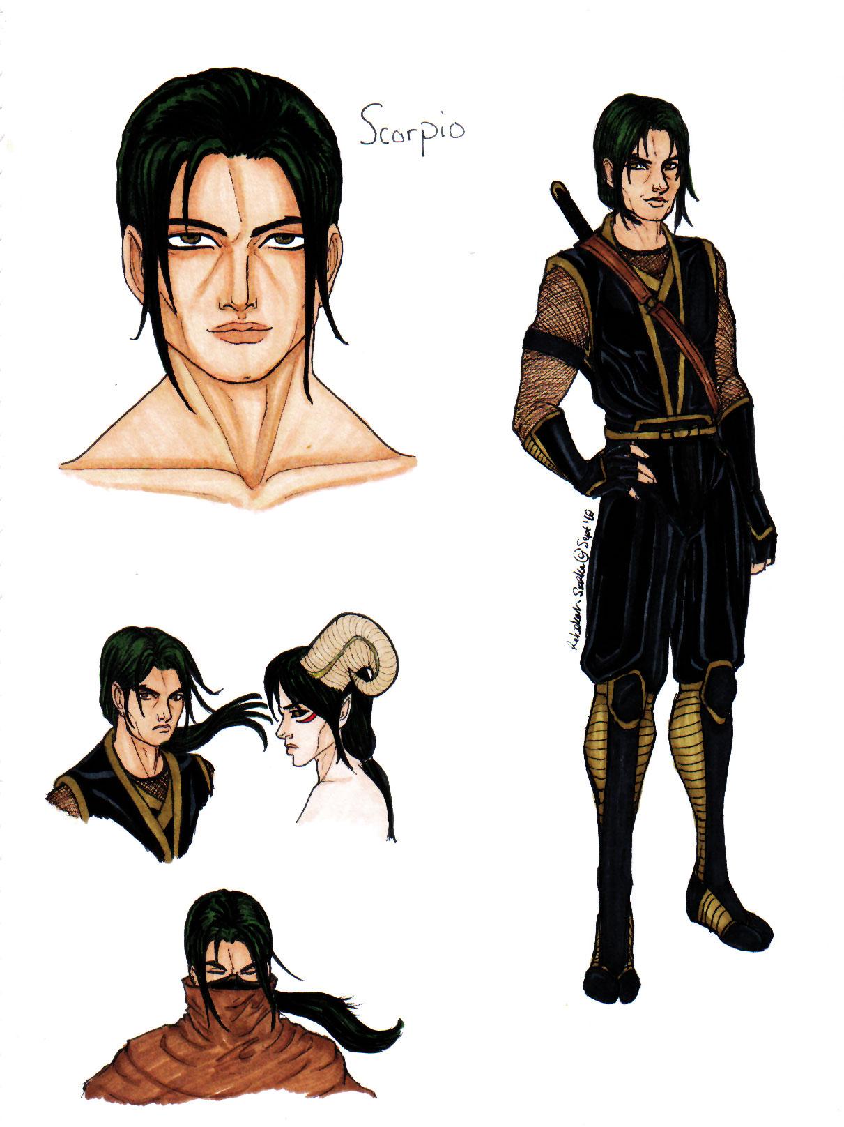 Khan-Hashibi Sasuke, Scorpio by ZpanSven