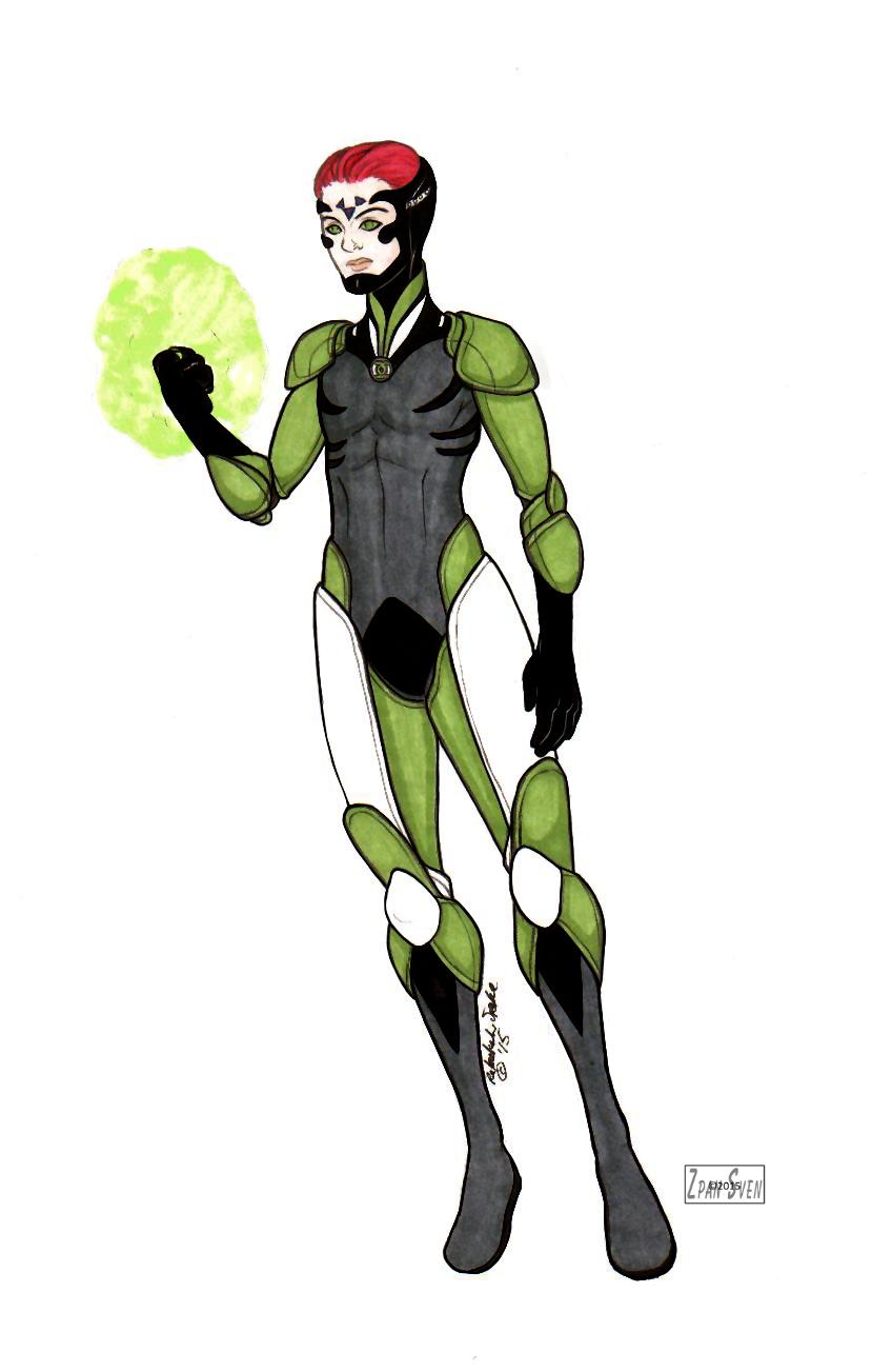 Star Wars/Green Lantern . Nemesis by ZpanSven
