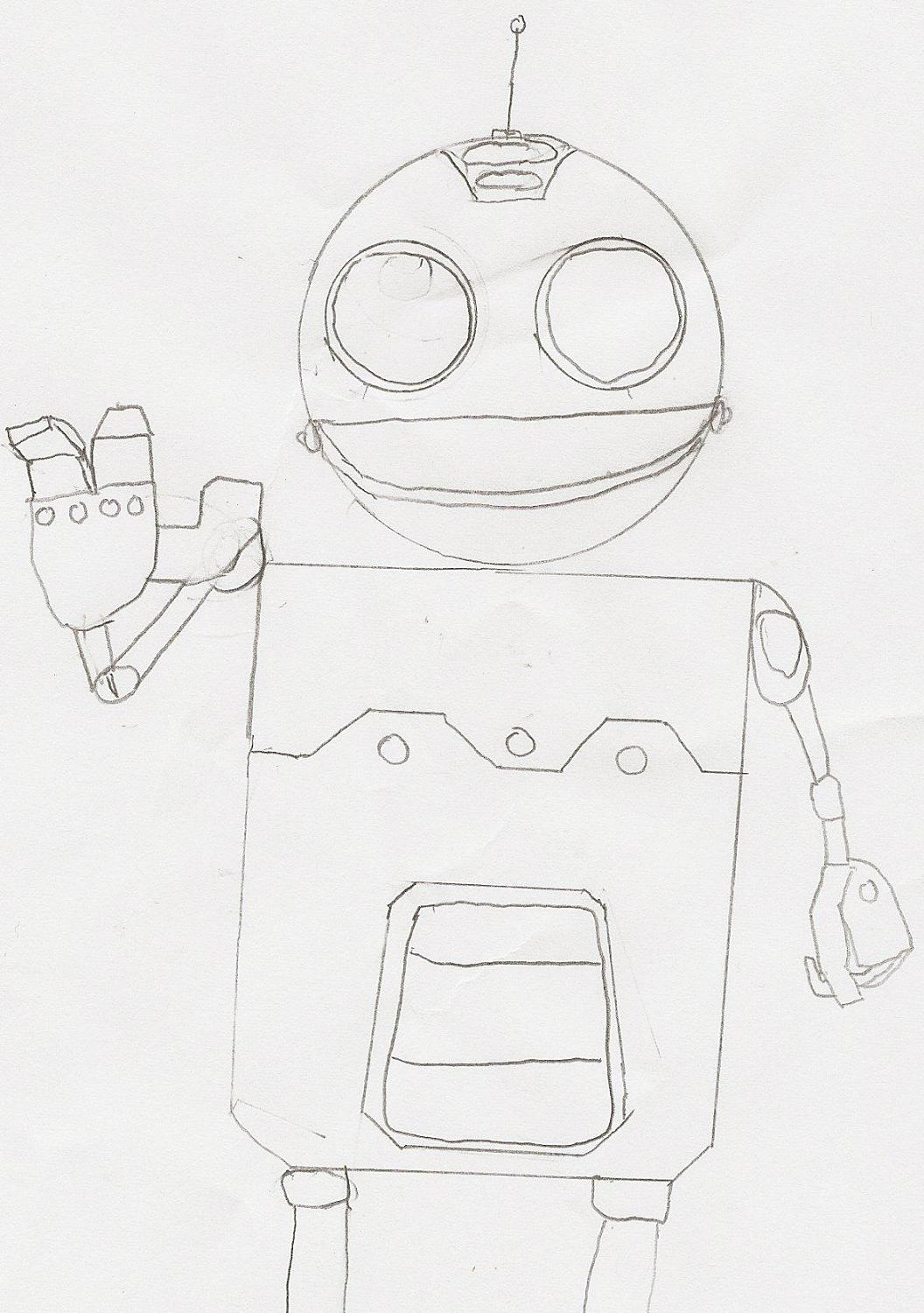 Clank (Uncolored) by Zzybranzzy