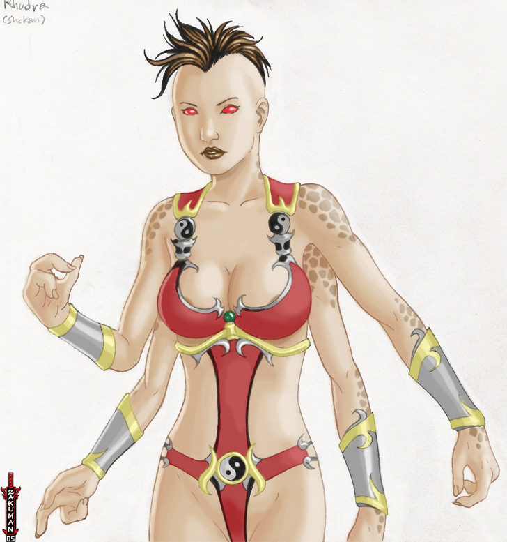 Shokan female by zakuman