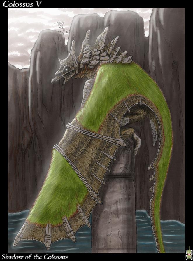 Colossus V by zakuman