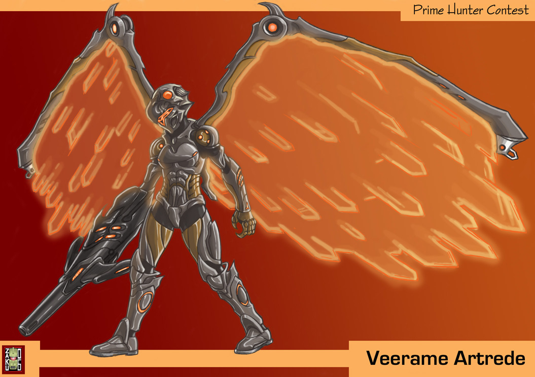 Chozo Armor by zakuman
