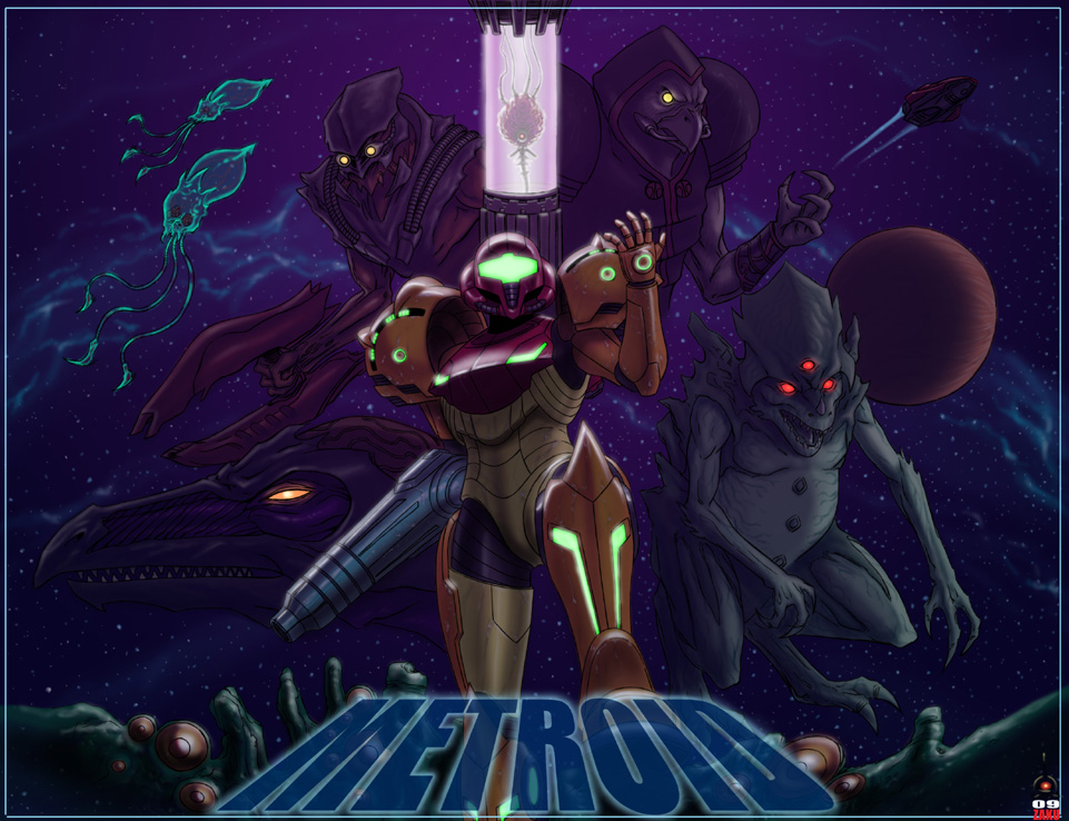 Metroid lovin' by zakuman