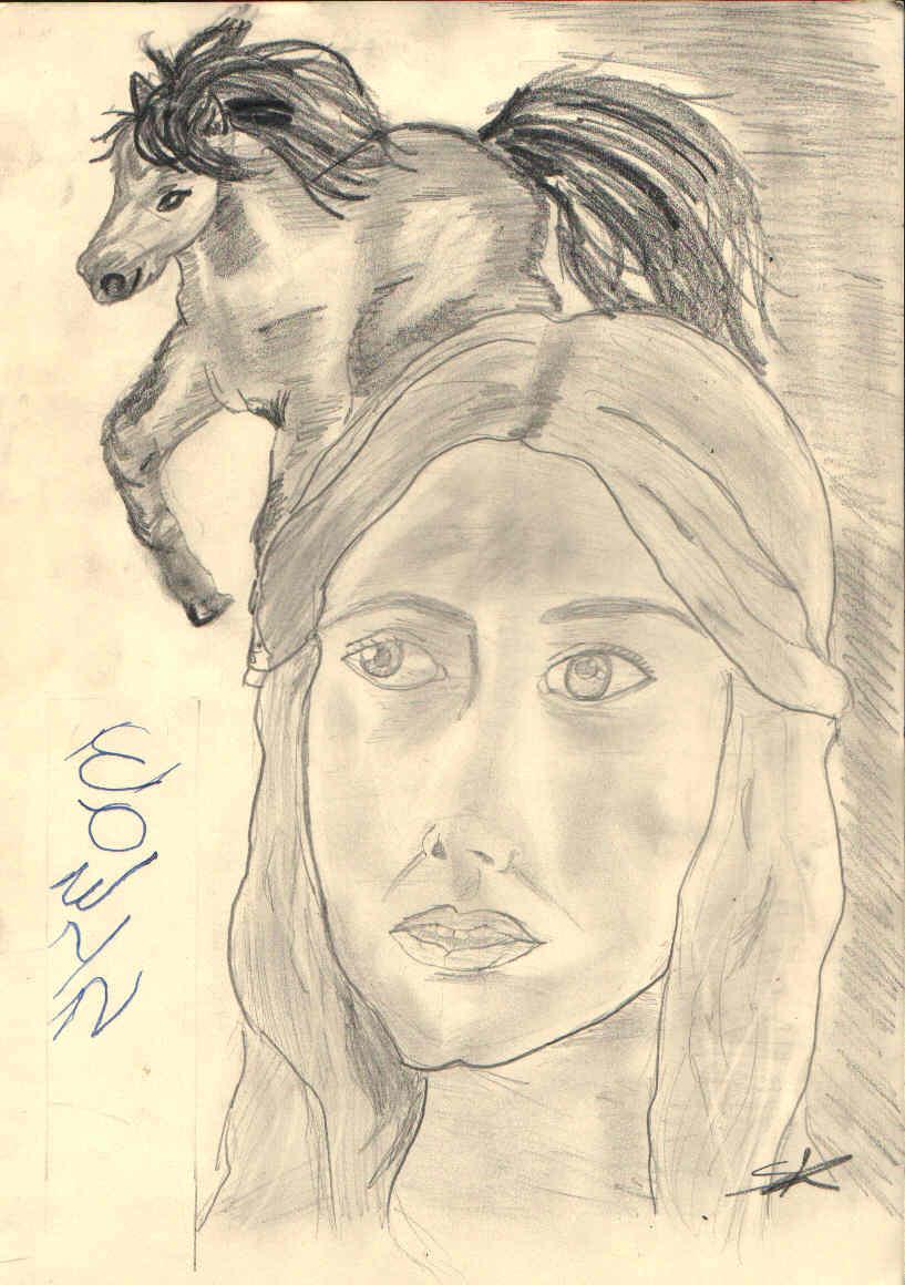 Lady of Rohan by zanacu