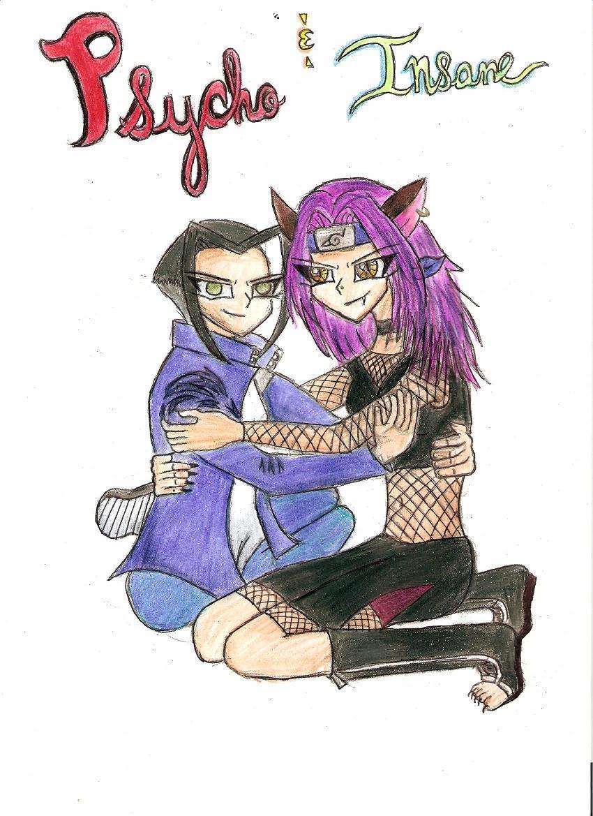 Selina and Alekazem: Psycho and Insane by zeldafan92