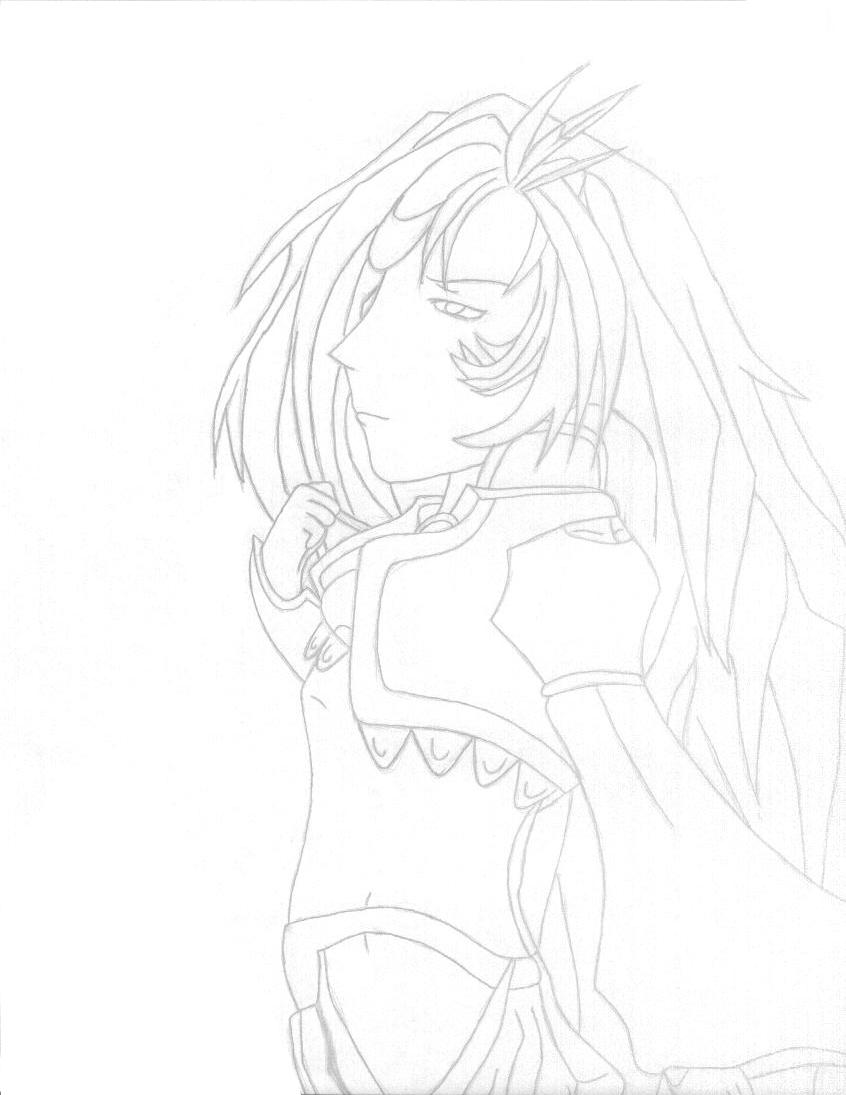 Kuja is sad looking ( I think) by zelosgirl120