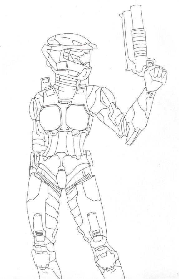 Female Spartan by zelosgirl120