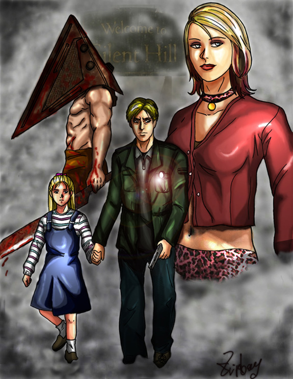 Silent Hill 2 Fan art by zipboy