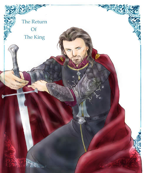 aragorn (king elessar) by zonikuo