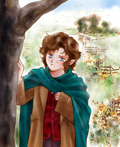 frodo by zonikuo