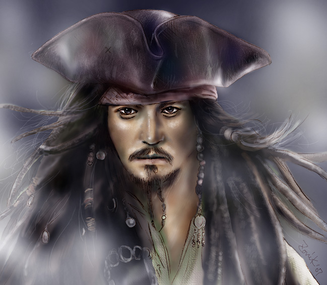 CAPTAIN JACK SPARROW* by zonikuo