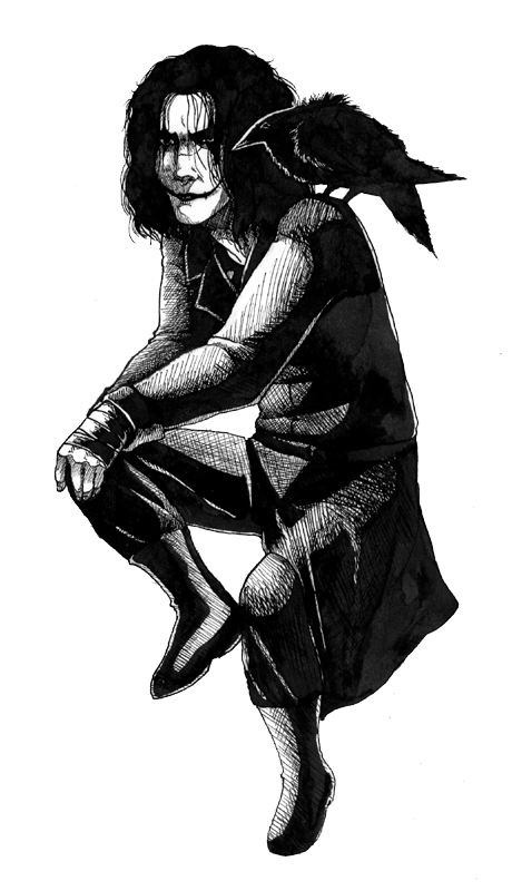 The Crow by zooni