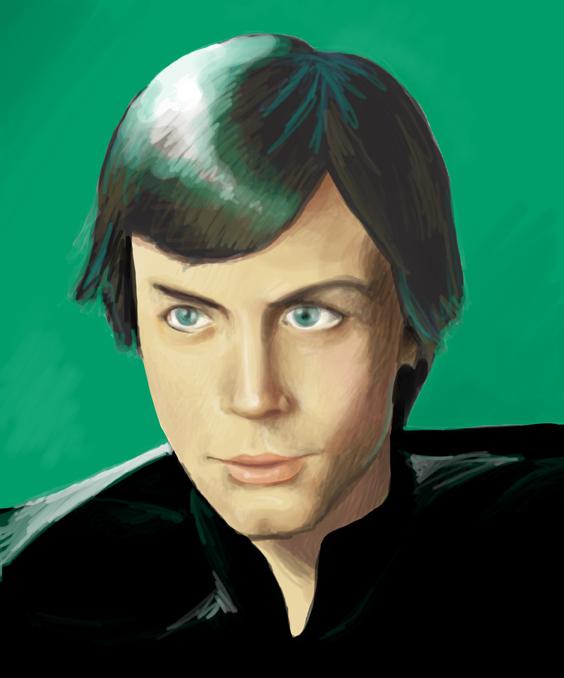 Luke Skywalker by zooni